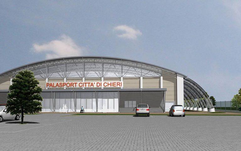 Progettazione nuovo impianto sportivo indoor a Chieri