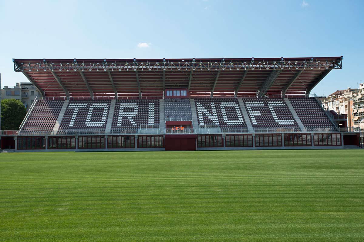 Inaugurazione nuovo Stadio Filadelfia Torino