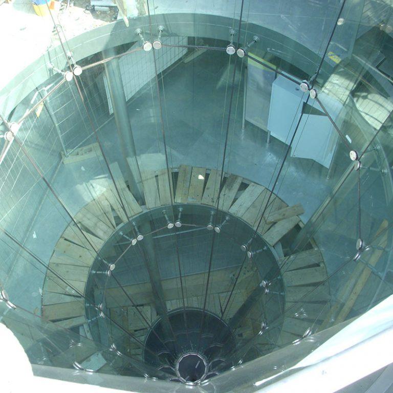 Struttura di ingresso al Planetario