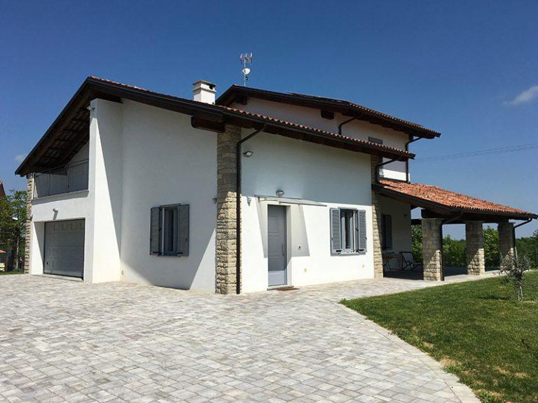 Realizzazione di villetta residenziale - Masio (AL)