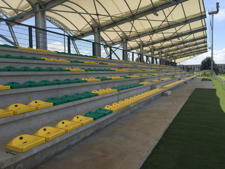 Nuova tribuna per il Campo da Rugby di Biella